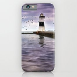 The Light on the Pier iPhone Case