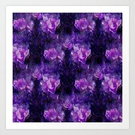 Stylin Purple.... Art Print