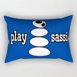 play sassi Rectangular Pillow
