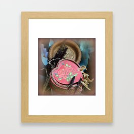 Our Lasting Love Glows On And On Framed Art Print