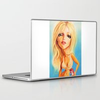 britney Laptop & iPad Skins featuring Britney Spears by Patrick Dea