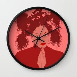 Miss Jackson Wall Clock