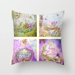 Easter Mood Collection Throw Pillow
