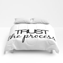 Trust The Process Comforters