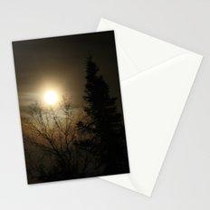 Moon Halo Stationery Cards