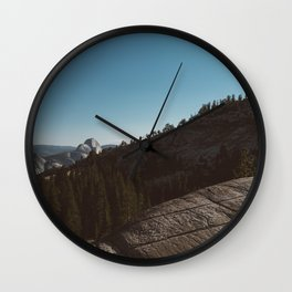 Olmsted Point, Yosemite National Park III Wall Clock