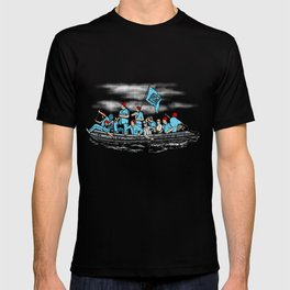 Team Zissou Crossing the Delaware T-shirt