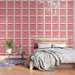 Red Stripe Wallpaper