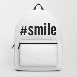 #smile Backpack