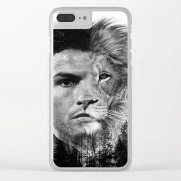 Cristiano Ronaldo Beast Mode Clear iPhone Case