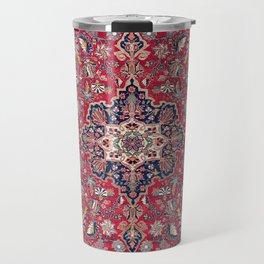 Bijar Kurdish Northwest Persian Rug Print Travel Mug