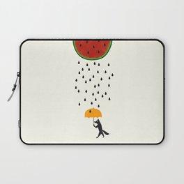 Raining Watermelon Laptop Sleeve