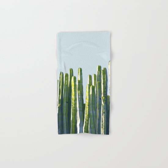 Cactus Hand & Bath Towel