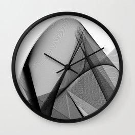 My Strong Gentle Heart. Abstract Art Wall Clock