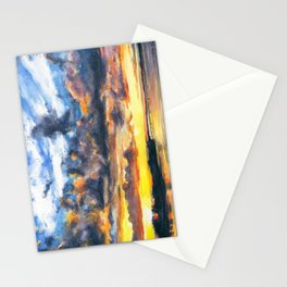 Mississippi River at Quincy Stationery Cards