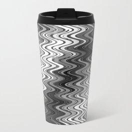 WAVY #2 (Grays & White) Travel Mug