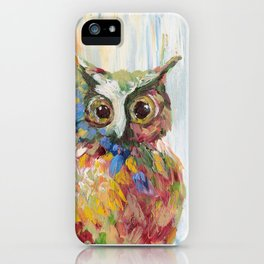 The Lonely Owl iPhone Case