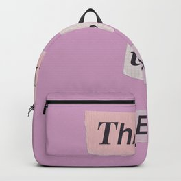 thank you next - Ariana - pink 2 Backpack