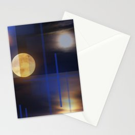 A Moon Lit Night Stationery Cards