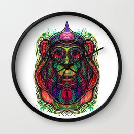 Psychedelic Wall Clock