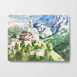 Northern Italian Alps Metal Print