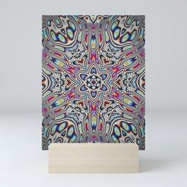 Hippie tech Mini Art Print