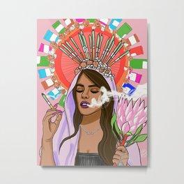 Cynthia Metal Print