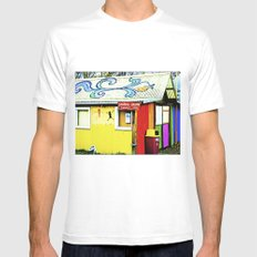 Store thousand vivid colors. Mens Fitted Tee MEDIUM White