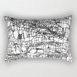 deconstructed knit Rectangular Pillow