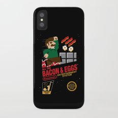 All the Bacon and Eggs iPhone X Slim Case