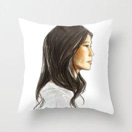 elementary: jw Throw Pillow
