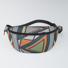 ethnic background folk africans endless pattern Fanny Pack