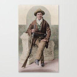 Calamity Jane 1895 Canvas Print