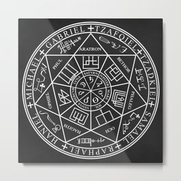 Seals Of The Seven Archangels Metal Print