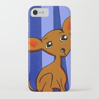 chihuahua iPhone & iPod Cases featuring Chihuahua by Britt Miller Art