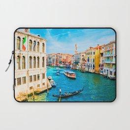 Italy. Venice lazy day Laptop Sleeve