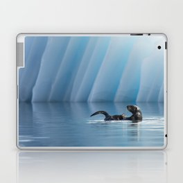Playful Sea Otter Laptop & iPad Skin