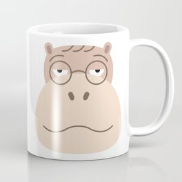 Sluggish Hippo Coffee Mug