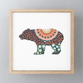 The Bare Necessities. The Jungle Book. Framed Mini Art Print