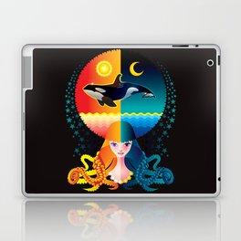 Dream - Sea Day & Night Laptop & iPad Skin