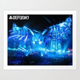 Defqon.1 Art Print