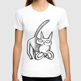 who, kat? T-shirt