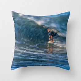 Time Slider Throw Pillow