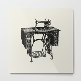 Singer sewing machine Metal Print