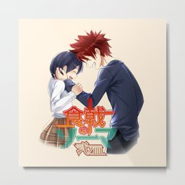 yukihira with tadokoro amazing1 Metal Print
