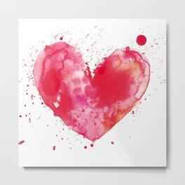 My Heart Metal Print