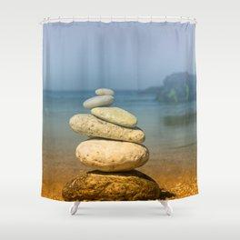 Meditation Shower Curtain