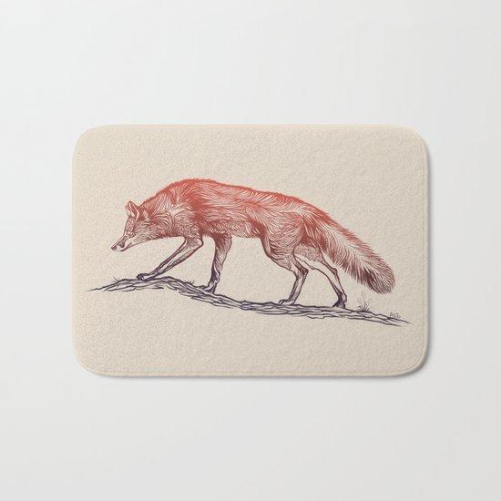 Hunting Fox Bath Mat