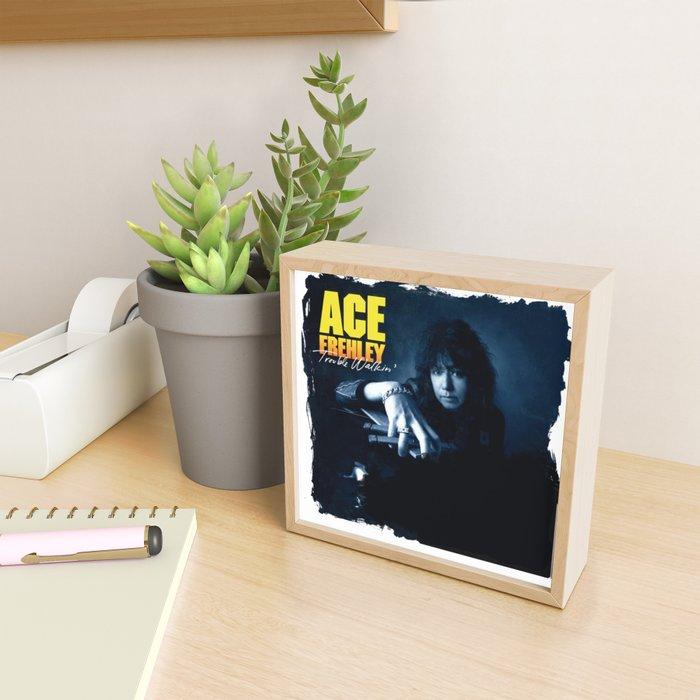 ACE FREHLEY TROUBLE WALKIN Framed Mini Art Print