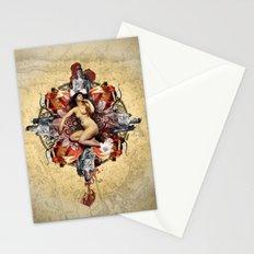 Kaleidoscope Woman Stationery Cards
